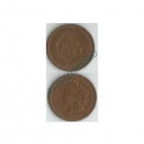 Moeda Estados Unidos da América - Km090a - One Cent - 1907