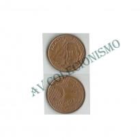 MRS 029A - Moeda 5 Centavos - 2000 - Reverso Invertido