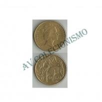 Moeda Austrália - Km084 - 1 Dollar - 1994