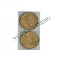 MES - AUT101- 2 Dollares - Austrália - 1989