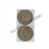 Moeda Chile - Km176.1 - 1 Peso - 1933