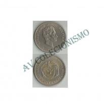 MES - COL217 -  50 Centavos - Colômbia -1959
