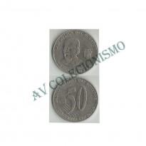 MES - EQD108 -  50 Centavos - Equador - 2000