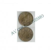 MES - ESP - KM0740 - 25 Centavos - Espanha -1925