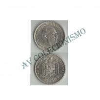 MES - ESP - KM0778 - 5 Pesetas - Espanha -1950