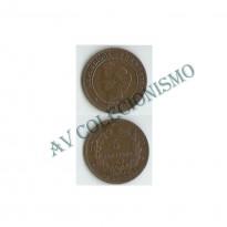 MES - FRA - KM0821.1 - 5 Centavos - Franca - 1886A