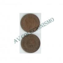 MES - FRA - KM0821.1 - 5 Centavos - Franca - 1897A