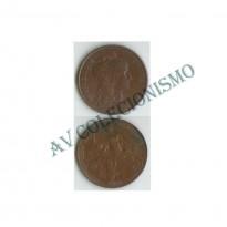 MES - FRA - KM0842 - 5 Centavos - Franca - 1916