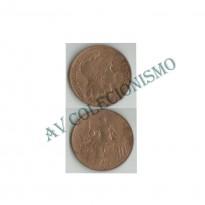 MES - FRA - KM0843 - 10 Centavos - Franca - 1909