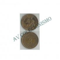 MES - FRA - KM0877 - 2 Francos - Franca - 1925