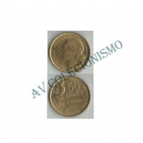 MES - FRA - KM0918.1 - 50 Francos - Franca - 1952