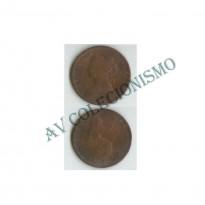 MES - GRB - Km0754 - 1/2 Penny - Inglaterra - 1875H