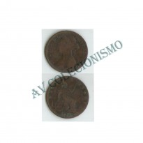 MES - GRB - Km0754 - 1/2 Penny - Inglaterra - 1886