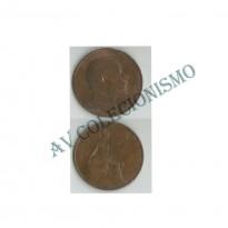MES - GRB - Km0794.2 - 1 Penny - Inglaterra - 1906