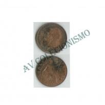 MES - GRB - Km0809 - 1/2 Penny - Inglaterra - 1921