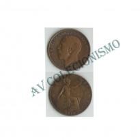 MES - GRB - Km0810 - 1 Penny - Inglaterra - 1911