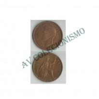 MES - GRB - Km0845 - 1 Penny - Inglaterra - 1938