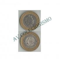MES - GRB - Km0994 - 2 Pounds - Inglaterra - 2001