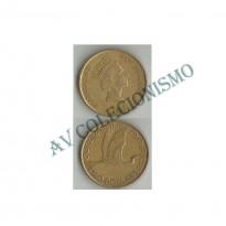 MES - NZL079 - 2 Dollares - Nova Zelândia - 1990