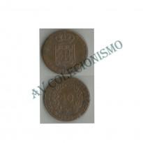 MES - PRT391 - 40 Reis - Portugal - 1832
