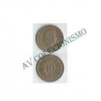 MES - SUI027 - 10 Rappen - Suica - 1884b