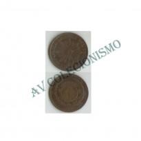 MES - URG - Km011 - 1 Centavo - Uruguai - 1869H