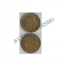 MES - URG - Km025 - 10 Centavos - Uruguai - 1930
