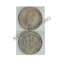 MES - HOL - KM161.1 - 1 Gulden - Holanda - 1931