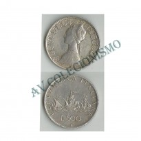 MES - ITA - Km098 - 500 Liras - Itália - 1960