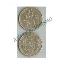 MES - PER218.1 - 1 Sol - Peru - 1926