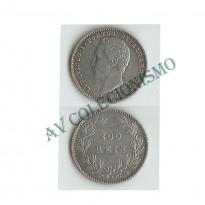 MES - PRT512 - 200 Reis - Portugal - 1877 - Rara