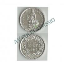 MES - SUI021 - 2 Francos - Suica - 1964b