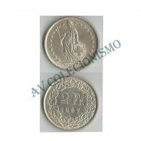 MES - SUI021 - 2 Francos - Suica - 1967b