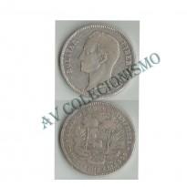 MES - VNZ024.2 - 5  Bolívares - Venezuela - 1912