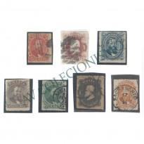 Selos Império - 30 ao 36 - 1876