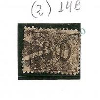 Selos Império - 14B - 60 Reis - Verticais - Denteados  - 1850