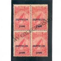 QZ010 -  Quadra Zeppelin  - 2$500 - Serviço Aéreo ZEPPELIN - 1931