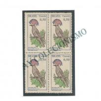 QC0602A - Quadra Pássaros Brasileiros - 1968