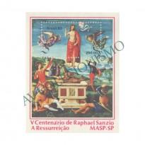 B056 - V Centenário do pintor italiano Raphael Sanzio - 1983 - MINT