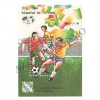B071 - XIII Campeonato Mundial de Futebol - México-86 - 1986 - MINT