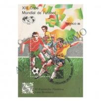 B071 CBC - XIII Campeonato Mundial de Futebol - México86 - 1986 - MINT