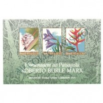 B100 - Homenagem ao paisagista Burle Marx. Exposição Filatélica - 1995 - MINT