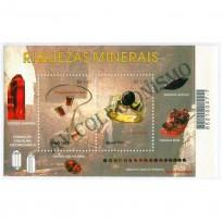 B123 - Riquezas Minerais do Brasil - 2001 - MINT