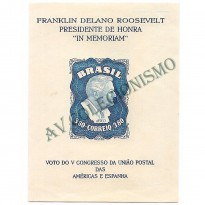 B012 - ROOSEVELT - 1949  - MINT