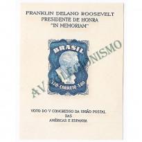 B012B - ROOSEVELT - 1949  - MINT