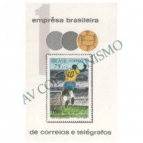 B028 - Milésimo Gol do Pelé - 1970 - MINT