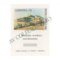 B029 - Lubrapex - 3a Exposição Filatélica Luso-Brasileira - 1970  - MINT