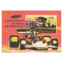 B033 - Campeão Mundial de Fórmula 1 Emerson Fittipaldi - 1972 - MINT