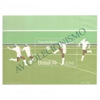 B036 - Campeonato Mundial de Futebol Alemanha - 1974 - MINT