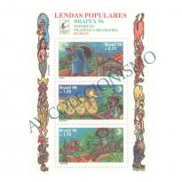 B106 - Lendas Populares. Brapex - Exposição Filatélica Brasileira - 1996 - MINT